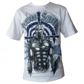 "T-shirt ""SPARTAN"" (λευκό) POWER SYSTEM PS 5000W"
