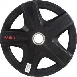 Δίσκος Φ50mm, 20kg amila, ολυμπιακού τύπου (84645)