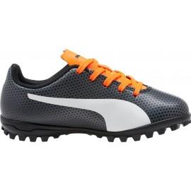 Puma Spirit TT Soccer Cleats 104501-06 black/white/orange