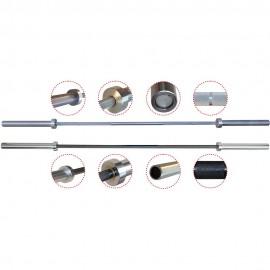Μπάρα amila χωρίς κολάρο Φ50mmx220cm, ολυμπιακού τύπου (80046)
