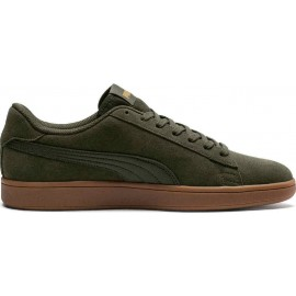 Puma Smash V2 Trainers 364989-19 forest night