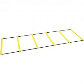 Σκάλα επιτάχυνσης και ρυθμού Agility Ladder 2 σε 1 AMILA (97701)