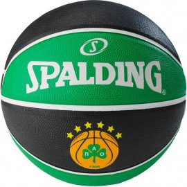 Μπάλα μπάσκετ Spalding Panathinaikos BC Euroleague outdoor (83 079Z1)