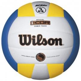 Μπάλα βόλεϊ Wilson I-COR POWER TOUCH ΛΕΥΚΗ (WTH 7720 XYWB)