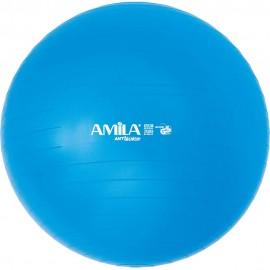Μπάλα κινησιοθεραπείας ατρύπητη ,Χρώμα Μπλε Βάρος 1,50kg Φ65cm, χωρίς κουτί και τρόμπα (47066)