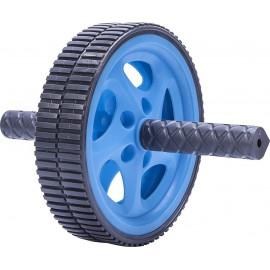 Ρόδα Κοιλιακών διπλή Live Up Exercise Wheel Blue/Grey (Β 3160)