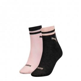 Puma short sock 283002001 light pink/light grey
