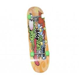 Skateboard Τροχοσανίδα στενή ΑΘΛΟΠΑΙΔΙΑ, απλή Νο1 3999 CR