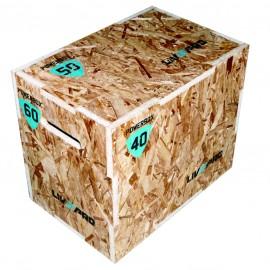 Plyo Box 3‑σε‑1 (Ξύλινο Πλειομετρικό Κουτί) Β 8150
