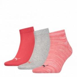 Σετ 3 ζευγάρια κοντές κάλτσες γυναικείες Puma Quarter 3 Pairs 271080001 839