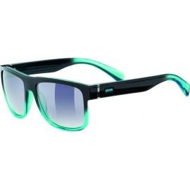 Γυαλιά ηλίου Uvex lgl 21 Black Turquoise 530876.2416
