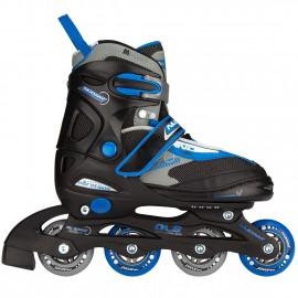 Inline Skate Junior ρυθμιζόμενα 30-33, 34-37 και 38-41 Nijdam (52SE-ZBG)