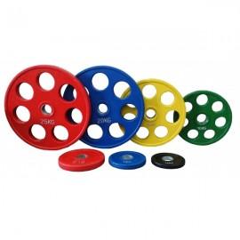 Ολυμπιακοί Δίσκοι με λάστιχο 5kg Φ50 Pegasus Β-1127-5