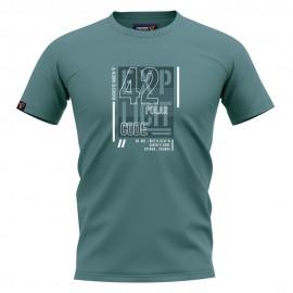 Ανδρική Κοντομάνικη Μπλούζα T-SHIRT MAGNETIC NORTH graphic 19017 arctic