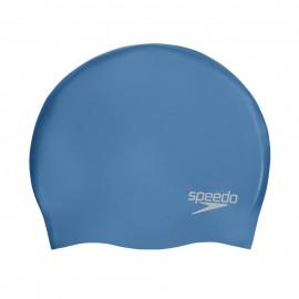 Σκουφάκι πισίνας μονόχρωμο, SPEEDO PLAIN MOULDED SILICONE CAP 70984-C816U blue