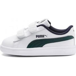 Παιδικό αθλητικό παπούτσι Puma Smash v2 L V Inf 365174-10 White/Ponderosa Pine