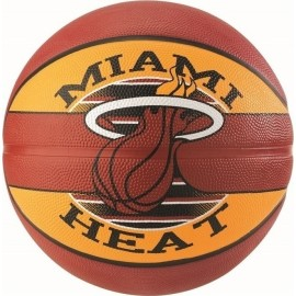 Μπάλα μπάσκετ SPALDING NBA Team Miami Heat (83 507Z1)