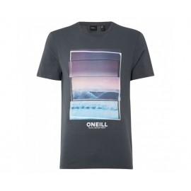 O'NEILL LM BEACH T-SHIRT 9A2358 8026 ΓΚΡΙ