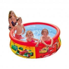 Φουσκωτή Πισίνα Intex Cars Easy Set Pool 28103