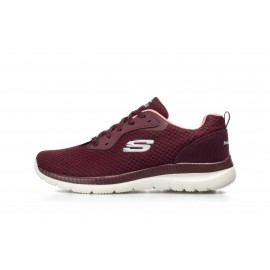 Skechers Bountiful 12606/BUPK ΜΠΟΡΝΤΩ