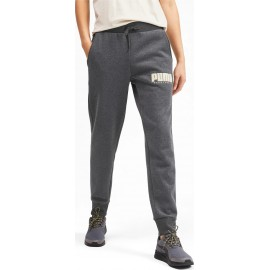 Ανδρική Φόρμα Puma Athletics Fleece Pants -580162-07 grey