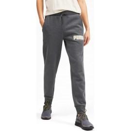 Ανδρική Φόρμα Puma Athletics Fleece Pants -580162-07 grey