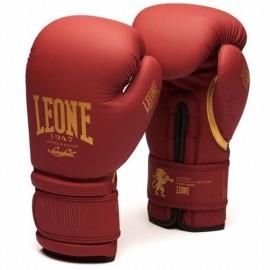 Γάντια προπόνησης Leone BOXING GLOVES BORDEAUX GN059