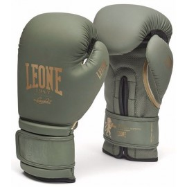 Γάντια προπόνησης Leone Military Edition Boxing Gloves GN059 Green