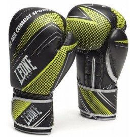 Γάντια προπόνησης LEONE BLITZ BOXING GLOVES Black GN320 BLC