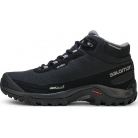 Aνδρικά trail παπούτσια SALOMON 'SHELTER' Cs Wp 372811 404729-BLACK/PEWTER-