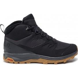Aνδρικά trail παπούτσια SALOMON ΜΠΟΤΑΚΙ WINTER SHOES OUTSNAP CSWP BLACK/EBONY/GUM (409220)