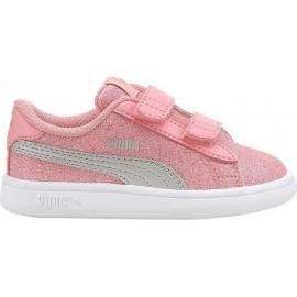 Παιδικά Αθλητικά Παπούτσια Puma Smash V2 Glitz Glam 367380-15