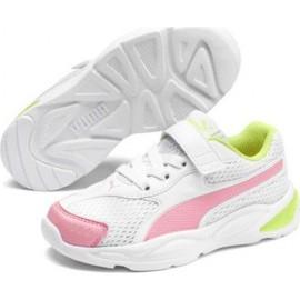 Παπούτσι Παιδικό Sneaker Puma 90s Runner Mesh AC PS372927 04 Λευκ Λευκ