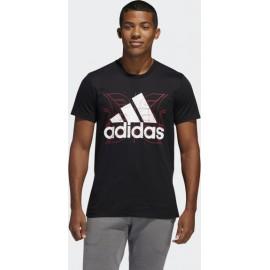 Αντρικό t-shirt adidas Performance Future Courts Men's Tee (FM4956)Μαύρο