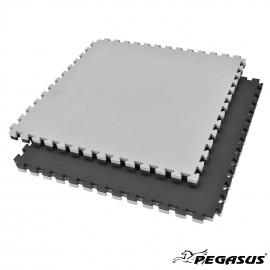 Δάπεδο προστασίας Puzzle EVA (Μαύρο/Γκρι) 3.0cmΒ-4100-30