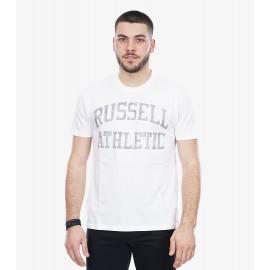 Russell ανδρική μπλούζα κοντομάνικη Russell Athletic MEN'S TEE A0-092-1-001 Λευκό