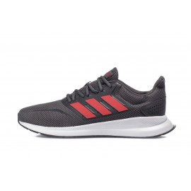 Ανδρικό Παπούτσι Running Fw20 Runfalcon EG8602 Dark Grey-Red