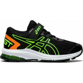 Asics Gt-1000 9 PS Παιδικά Παπούτσια GT-1000 9 PS 1014A150-005 GS ΜΑΥΡΟ