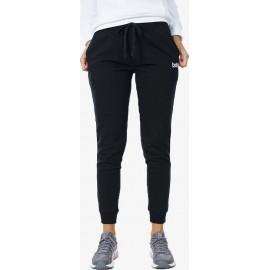Γυναικείο παντελόνι WOMEN FLEECE SKINNY JOGGERS 021012-01-BLACK Μαύρο