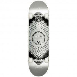 Skateboard Τροχοσανίδα PLAYLIFE 19.880278 Hardcore Silver, 31X8 ίντσες