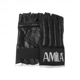 Γάντια σάκου δερμάτινα, S 43697