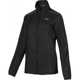 Puma Γυναικείο Αθλητικό Μπουφάν Αντιανεμικό Fw20 Ignite Wind Jacket 518260-03 Black-Grey