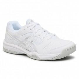 Γυναικεία παπούτσια ASICS WOMEN TENNIS GEL-DEDICATE 6 SHOES 1042A067-101 White/Silver
