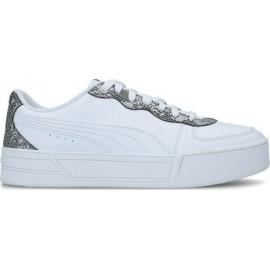 Puma Γυναικείο Παπούτσι Μόδας Ss21 Kye Untamed 368882-02 White-Dark Grey