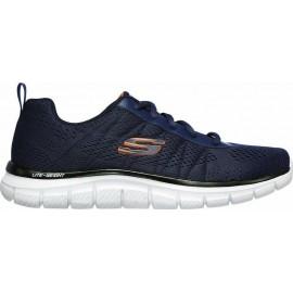 Skechers Track Ανδρικά Παπούτσια 232081-NVOR ΜΠΛΕ-ΠΟΡΤΟΚΑΛΙ