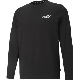Αντρική μπλούζα PUMA ESS SMALL LOGO LONGSLEEVE TEE 586672-01 black