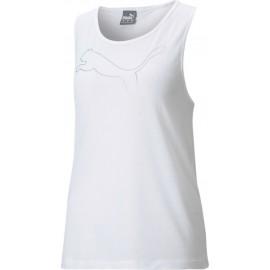 Αμάνικο γυναικείο T-shirt PUMA RTG Layer Tank 586452-02 White