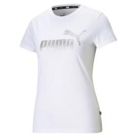 Γυναικείο T-Shirt Puma Essential Metalic Logo Tee 586890-02