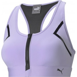 Puma High Impact Front Zip Bra 520295-16 Light Lavender