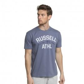 Ανδρική κοντομάνικη μπλούζα Russell Athl-S/S Crewneck Tee Shirt A1-013-1-096-F3 Folkstone Grey